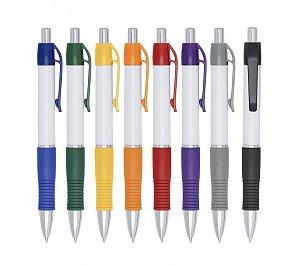 Canetas Plásticas modelo 3011 100 unidades 1 Cor