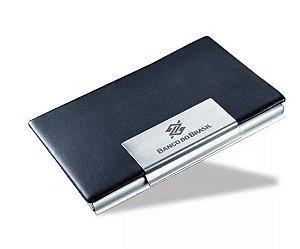 Porta Cartão Personalizado de couro 100 unidades