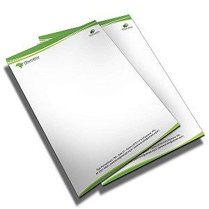 Papel Timbrado Personalizado 120g 2000 unidades