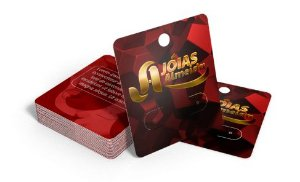 Cartela para Bijuterias Hot Stamping