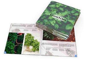 Catálogos e Revistas 15x10cm 24 páginas