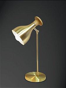 Luminária Kamila Alumínio E Madeira