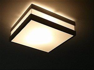 Plafon Quadrado Modular 32cm Aproveite