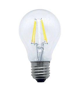 Lâmpada Filamento A60  Bivolt 100V - 240V  Aproveite