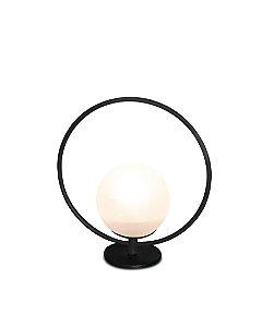 Luminária Signos Globo de Vidro Design Moderno