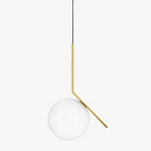 Pendente Angular Globo de 20cm Diâmetro Design Sofisticado Aproveite