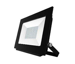Refletor de Led Bivolt 100w (6500K) Imbatível