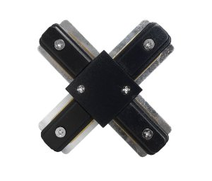 Conector X trilho Eletrificado Preto Exclusividade