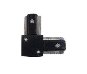 Conector L trilho Eletrificado Preto Confira