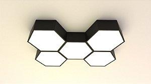 Plafon Hexa 45cm Aproveite