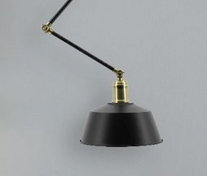 Luminária Fedora Articulada Design Retrô Aproveite