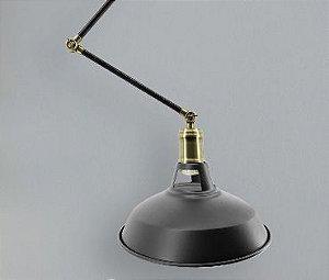 Luminária Beret Articulada Design Retrô Aproveite