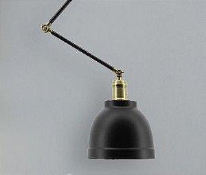 Luminária Cloche Articulada Design Retrô Aproveite