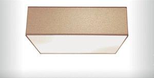 Plafon Quadrato em Tecido 60cm Aproveite