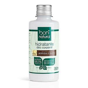 Hidratante Natural Corporal Amêndoa e Lavanda Boni Natural 250ml