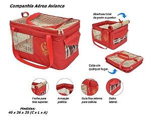 Caixa de Transporte para Cães e Gatos Avianca