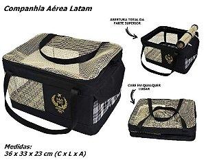 Bolsa Transporte Aéreo para Cães e Gatos - Companhia LATAM e outras