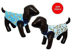 Roupa para Cães em Soft - Machos