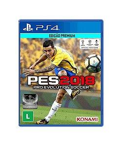 Pro Evolution Soccer - PES 2018 - PS4