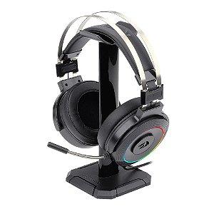 Headset Gamer Redragon Lamia 2 Audio 7.1 USB + Suporte