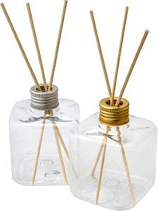Frasco para Aromatizador Difusor Plástico Cubo 300 ml (10 unid.)