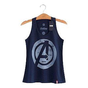 Camiseta Regata Feminina Vingadores Marvel