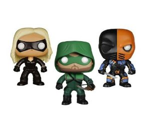 Set Arrow Pop Black Canary. Deathstroke e Arrow The Hood