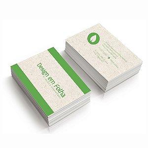 Cartão de Visita Reciclato 240g