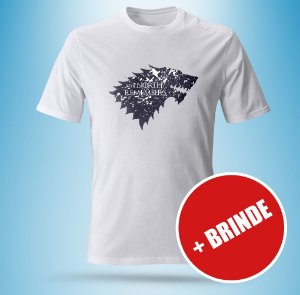 Camiseta The North Remembers - Game of Thrones