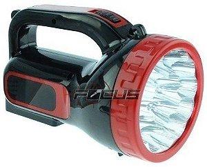 LANTERNA HOLOFOTE REC. 18 LEDS MAX-1808