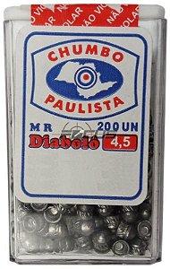 CHUMBINHO PAULISTA DIABOLO 4.5MM C/200PC