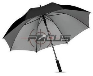 GUARDA CHUVA PRETO 8 VARETAS DUPLA MANUAL 150CM ID-4856G
