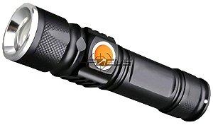LANTERNA TATICA REC. T6 USB 8411