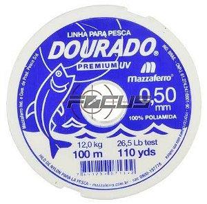 LINHA BRANCA DOURADO PREMIUM 100MTS 0.50 C/20PC