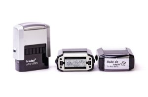 Carimbo Automático Personalizado - Trodat 4910 (10x27mm)