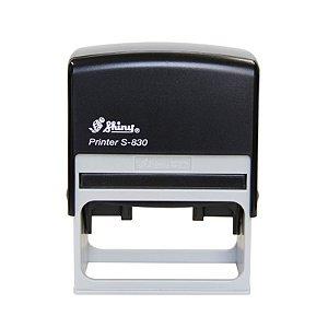 Carimbo Automático Shiny S-830 - 38x75 mm