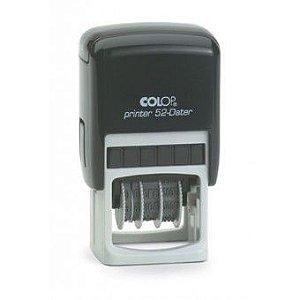Carimbo Datador Colop Printer 52-Dater - 20X30 mm
