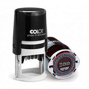 Carimbo Datador Colop Printer R 40-Dater Relógio 24 horas -  Ø40 mm