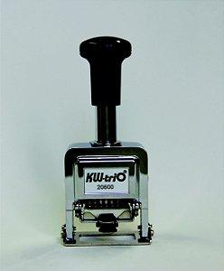 Numerador Automático Sequencial KW-Trio 20600 6 dígitos