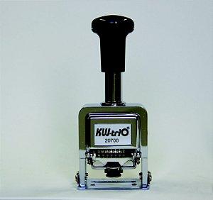 Numerador Automático Sequencial KW-Trio 20700 7 dígitos