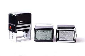 Carimbo Automático Shiny Printer S-829 - 40x64 mm (CNPJ)