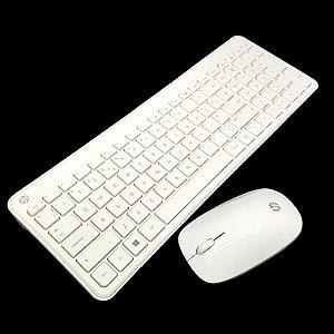 Teclado + mouse sem fio HP