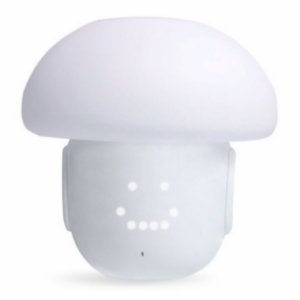 Caixa De Som / Luminária De Mesa / Speaker / Alarme - Bluetooth - Mushroom