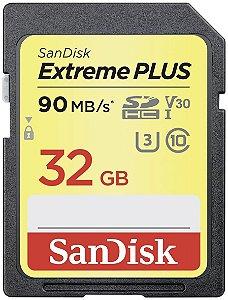 Cartão de memória Sandisk Extreme SDHC-I Card 32GB – 90MB/s