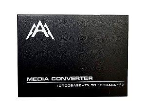 Conversor de Mídia WDM - HTB-1100S – 25km - LADO B - FIBRA ÚNICA - MARCA 3A
