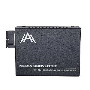 Conversor de Mídia GIGA WDM - LADO B  - Fibra Única - HTB-GS-03 - 20KM - MARCA 3A
