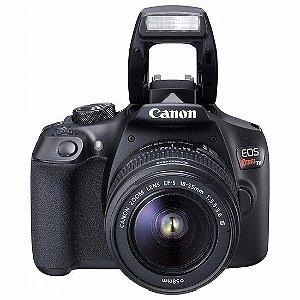 Câmera Canon T6 Kit lente 18-55mm