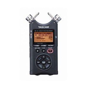 Gravador de áudio portátil Tascam DR-40 - v2 - 2gb