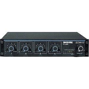 Mixer Automático de 4 canais Shure SCM410