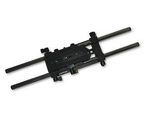 Estabilizador de mesa com trilhos para câmera